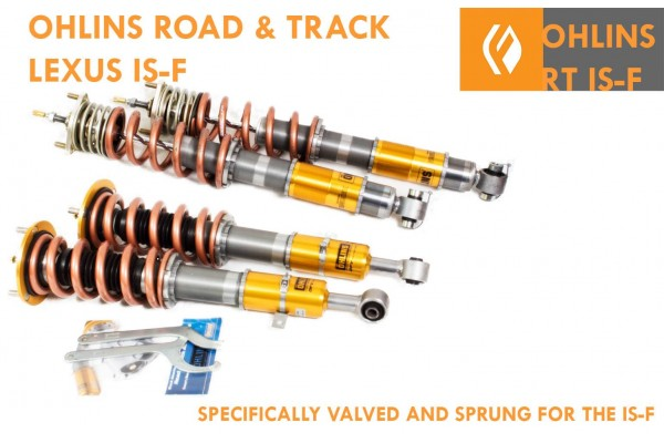 OHLINS ROAD AND TRACK COILOVERS IS-F SPECIFIC